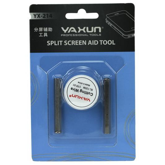 Леска для снятия стекла с ручками Ya xun YX-214