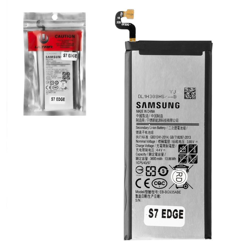 Аккумулятор Samsung Galaxy S7 Edge G935 BG935ABE 3600mAh Caution