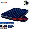 Двухспальный надувной матрас Intex 64765, размер 203x152x25 см