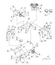 Гриль карусельный газовый Ф4К1Г (30 тушек) Grill Master