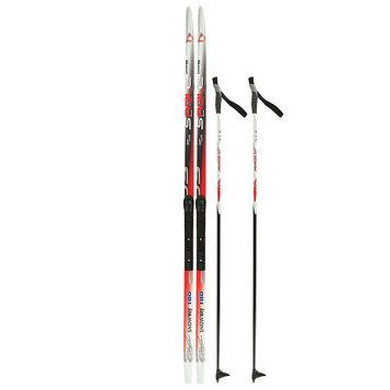 Комплект лыжный БРЕНД ЦСТ Step, 180/140 (+/-5 см), крепление SNS, цвет микс