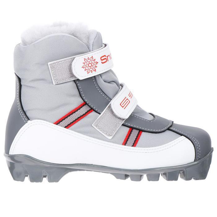 Ботинки SPINE Baby 101, крепление NNN, размер 30-31, цвет серый/красный