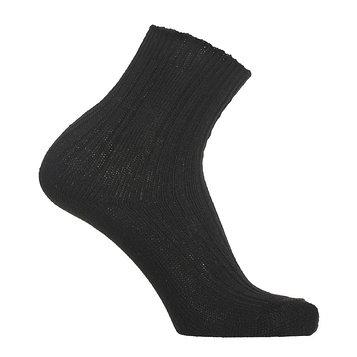 Носки мужские теплые, цвет чёрный, размер 25