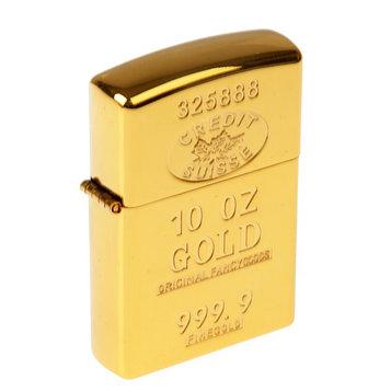 Зажигалка электронная в подарочной коробке,usb.дуговая, золотая, прямоугольная, 6.5×2.5×12см