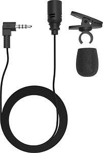 Микрофон петличный Ritmix RCM-102 черный