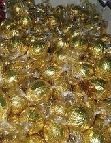 Шоколадные конфеты шарики с начинкой Fovourites 1кг (ЗОЛОТЫЕ)
