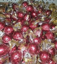 Шоколадные конфеты шарики с начинкой Fovourites 1кг (КРАСНЫЕ)