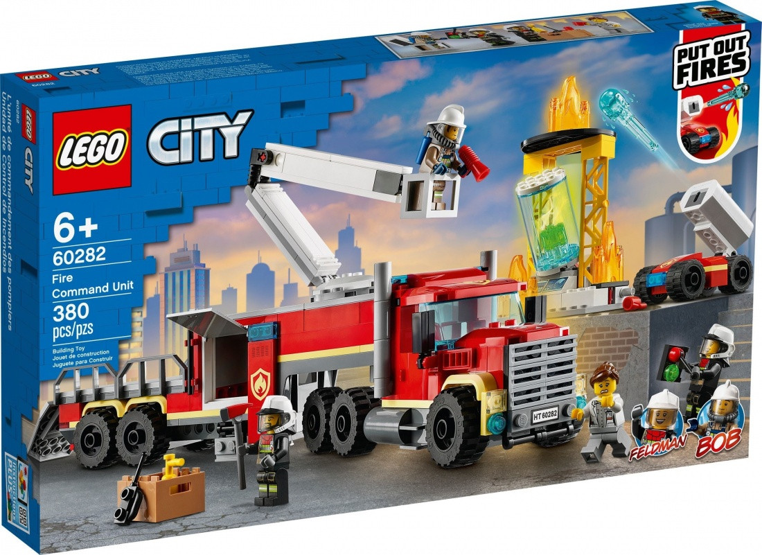 60282 Lego City Пожарные: Команда пожарных, Лего Город Сити