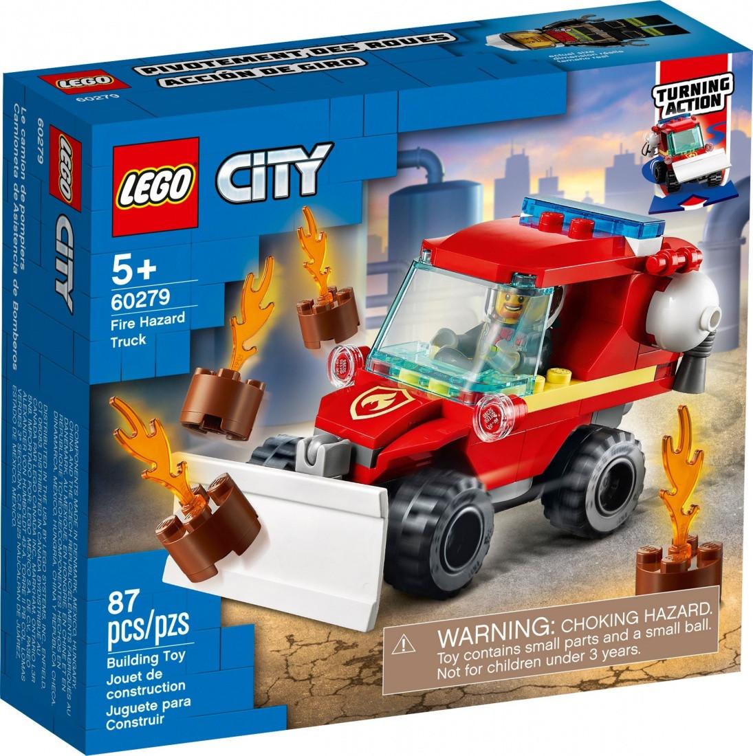 60279 Lego City Пожарные: Пожарный автомобиль, Лего Город Сити