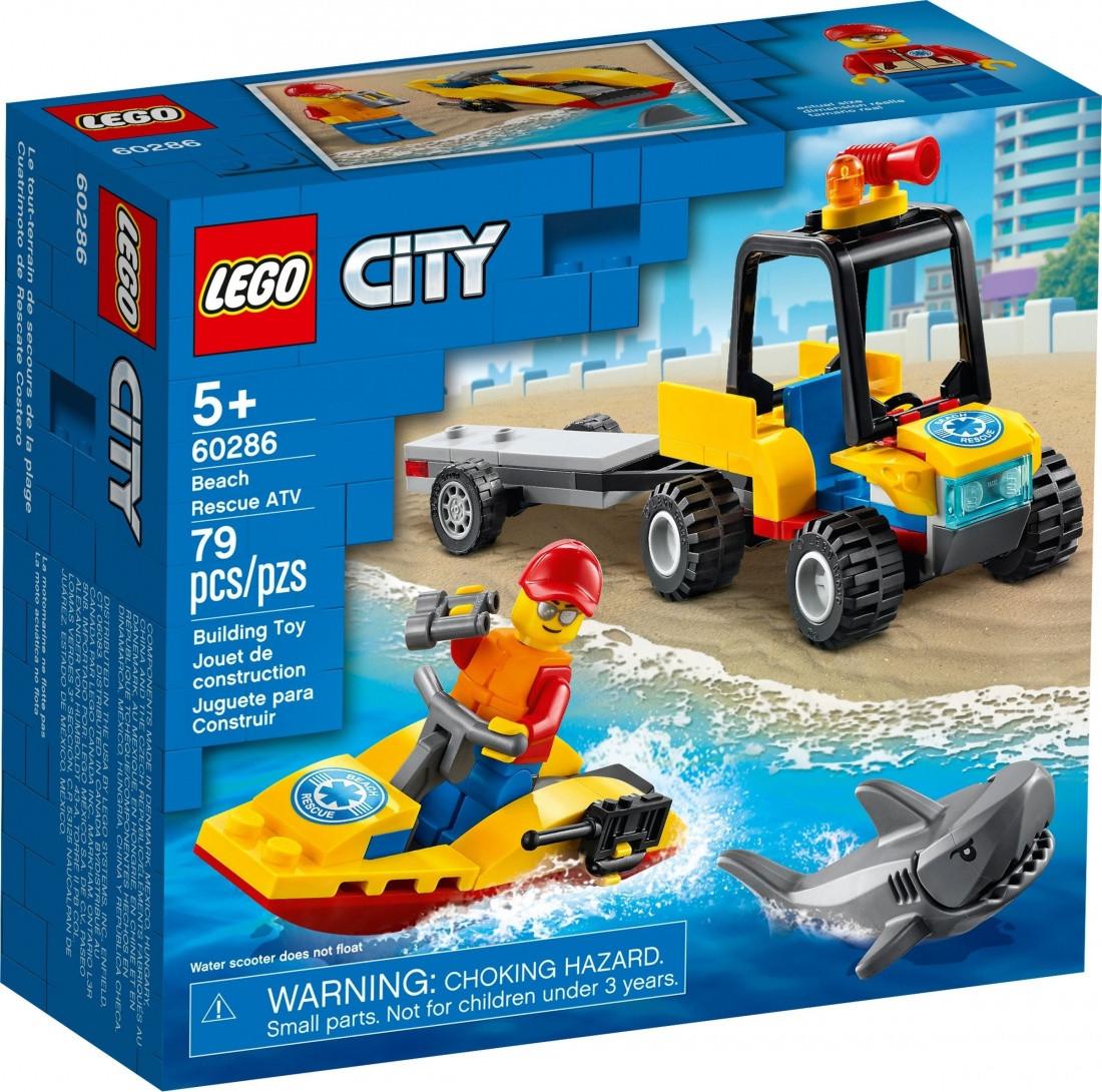 60286 Lego City Пляжный спасательный вездеход, Лего Город Сити