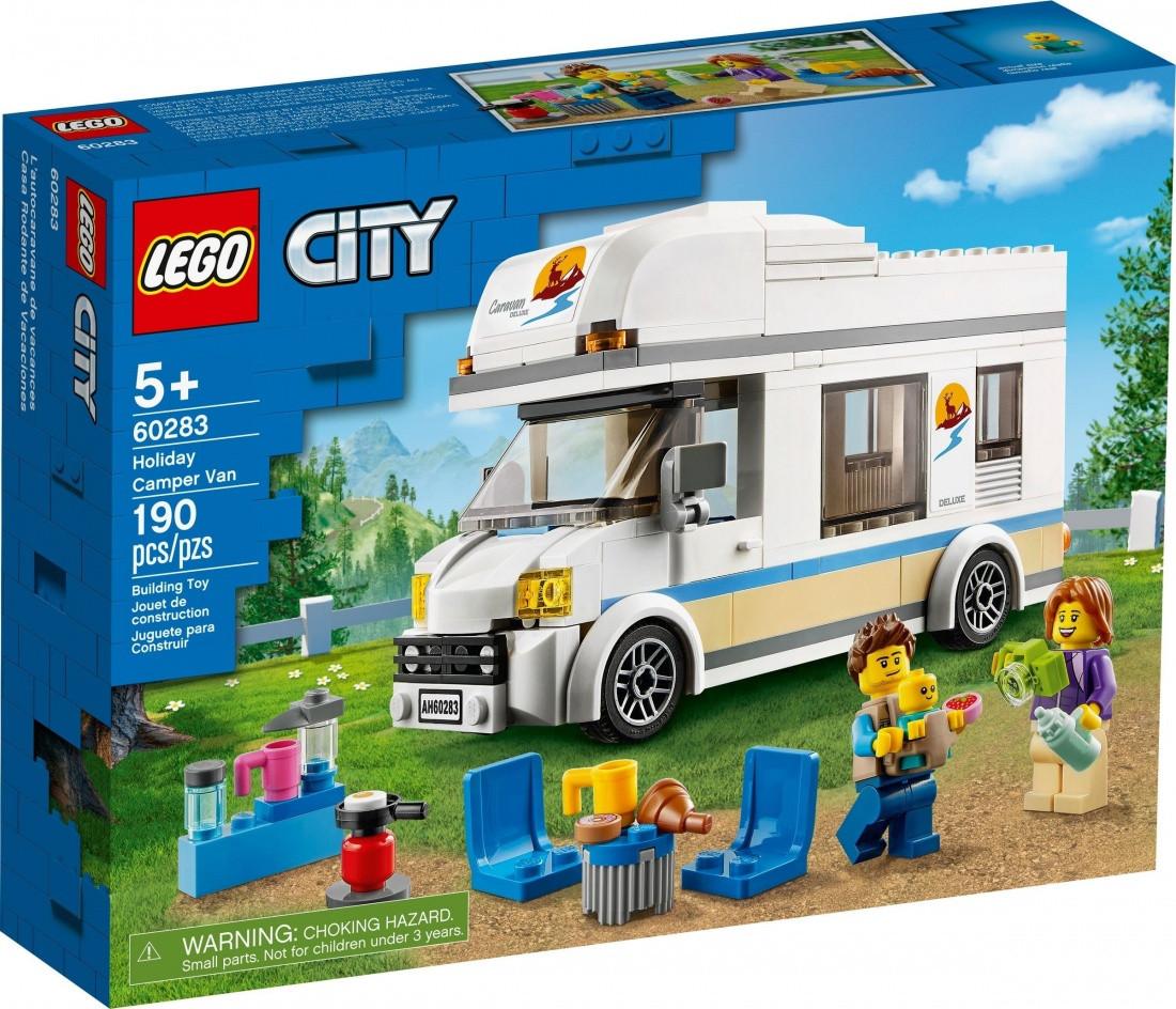 60283 Lego City Отпуск в доме на колесах, Лего Город Сити