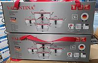 Набор нержавеющей посуды с Valentina VT-1004