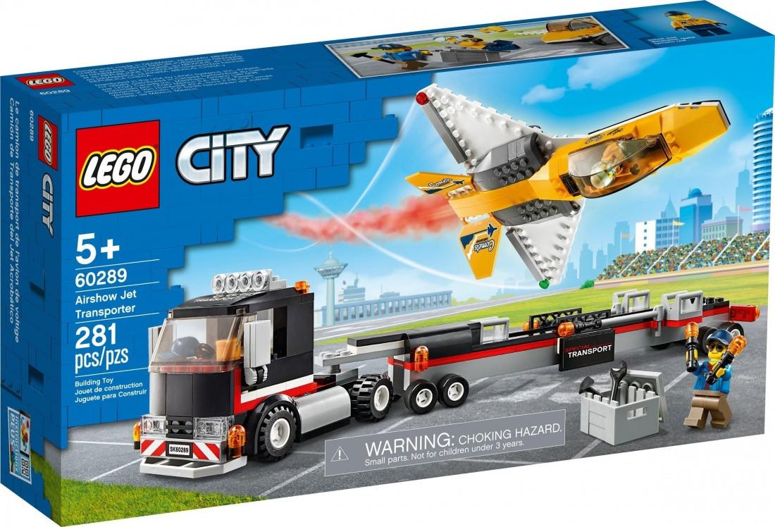 60289 Lego City Транспортировка самолёта на авиашоу, Лего Город Сити