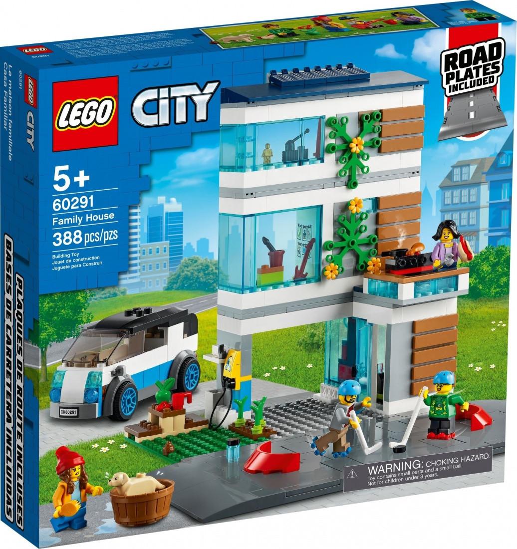60291 Lego City Современный дом для семьи, Лего Город Сити