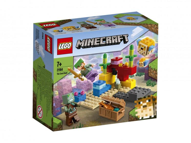 21164 Lego Minecraft Коралловый риф, Лего Майнкрафт