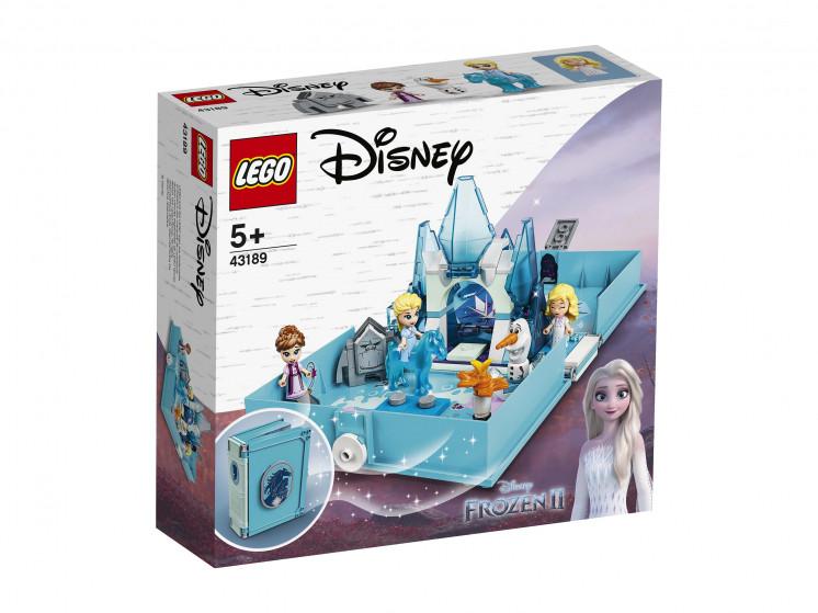 43189 Lego Disney Princess Книга сказочных приключений Эльзы и Нока, Лего Принцессы Дисней