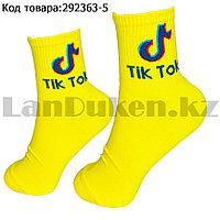 Носки женские хлопковые Tik Tok (Тик Ток) 36-41 размер Amigobs желтые