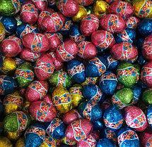 Яйцо шоколадное разноцветные 1 кг