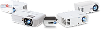 Проектор XGIMI H2, 3D, LED, DLP, 1350lm, 1920x1080, 1-7m, 30000hr, 1-7.65m, 2.5kg