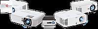 Проектор, BYINTEK, K1 Plus, LCD, 800x480, 160 ANSI люмен, 1800:1, Передача изображения со смартфона по USB,
