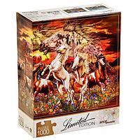 Пазл «Найди 16 лошадей», 1000 элементов