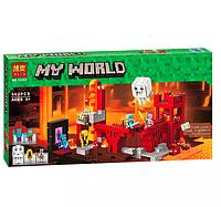 Конструктор BELA Minecraft 10393 Подземная крепость