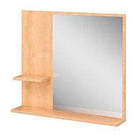 Шкаф навесной: панель зеркальная и 2 полки