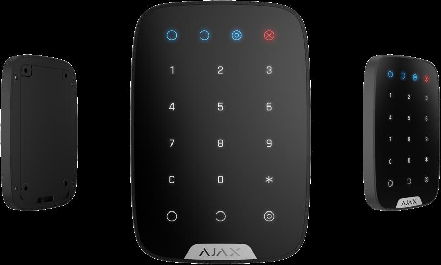 Беспроводная сенсорная клавиатура KeyPad Black