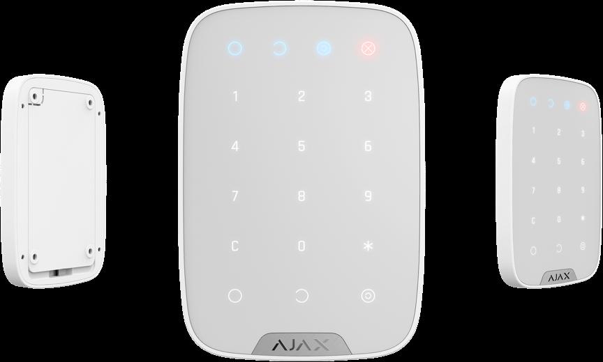 Беспроводная сенсорная клавиатура KeyPad White