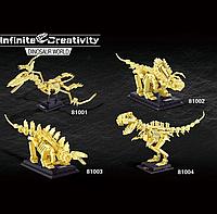 Конструкторы ископаемые динозавры