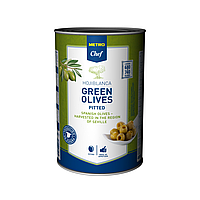 Оливки зеленые без косточки METRO CHEF 5000мл