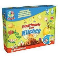 """Science4you Набор опытов """"Моя лаборатория: эксперементы на кухне"""""""