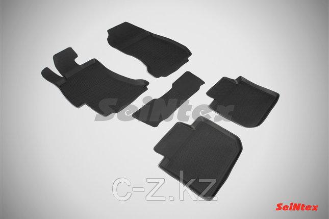 Резиновые коврики с высоким бортом для Subaru XV 2011-2017, фото 2