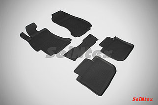 Резиновые коврики с высоким бортом для Subaru XV 2011-2017