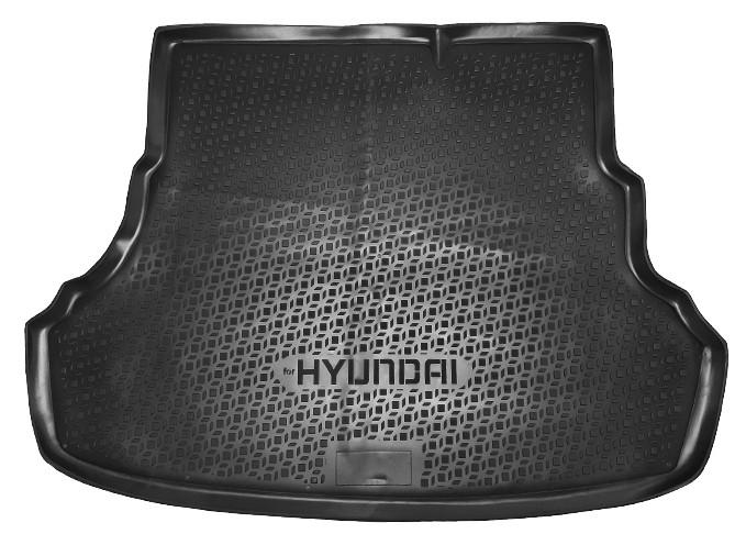 Коврик в багажник Hyundai Accent/Solaris (2010-2016)
