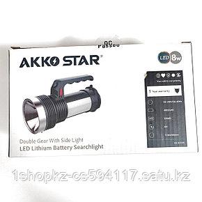 Ручной поисковый фонарь AKKO STAR 87290 8W, фото 2
