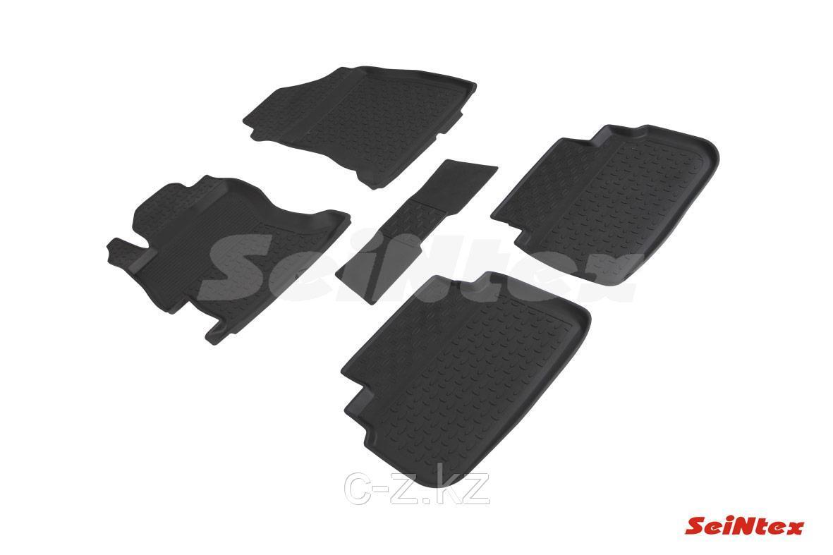 Резиновые коврики с высоким бортом для Subaru XV II 2017-н.в.