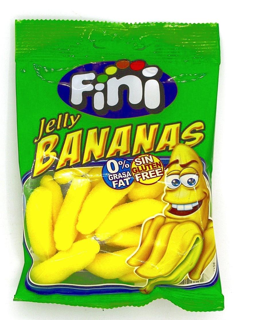 Мармелад Fini Банановые дольки 100 гр. (Jelly Bananas) Мармелад