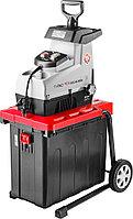 Измельчитель веток садовый ЗУБР ЗИЭ-44-2800, бесшумный электрический, режущая способность 44 мм