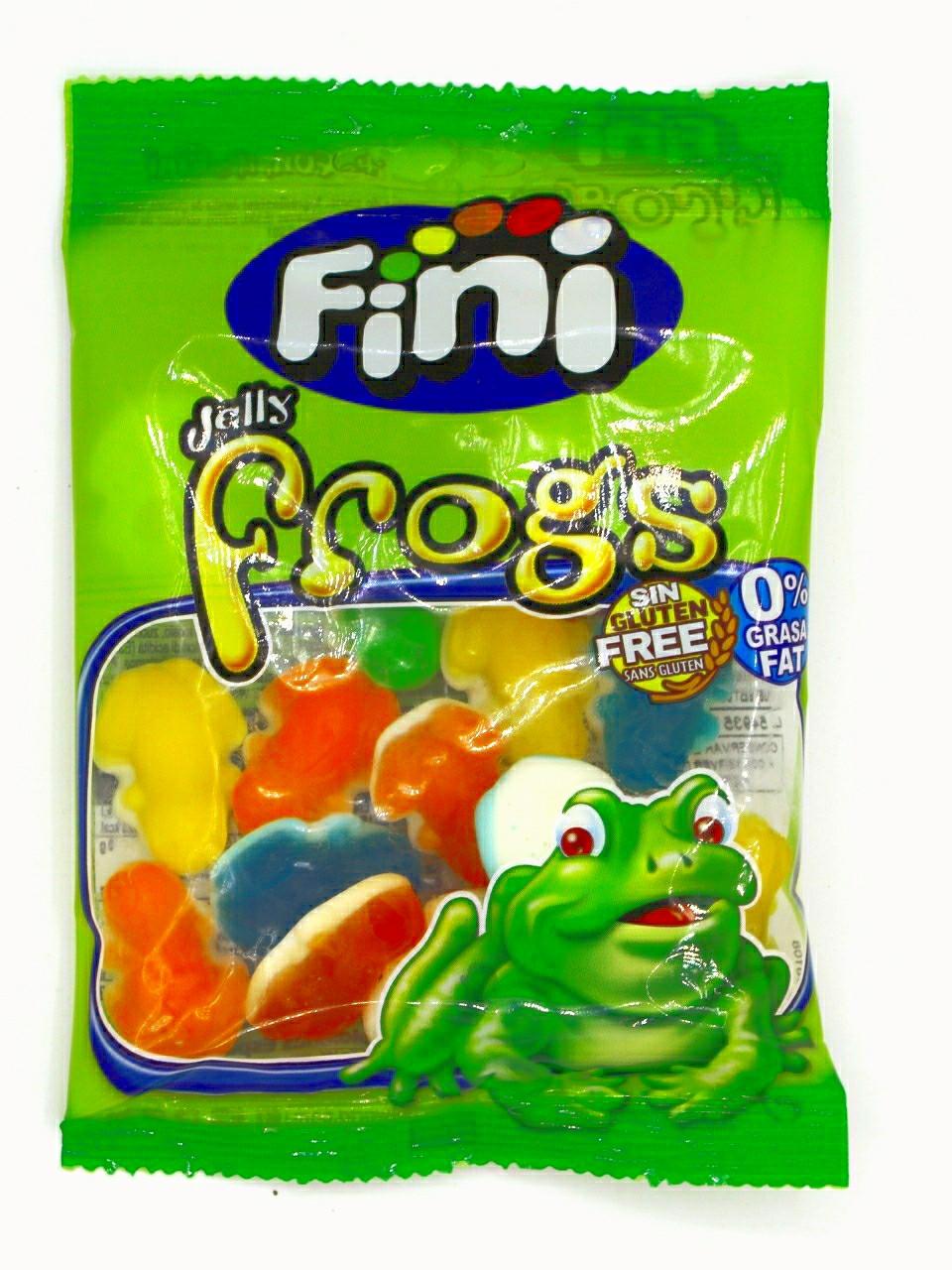 Мармелад Fini Лягушки разноцветные 100 гр.