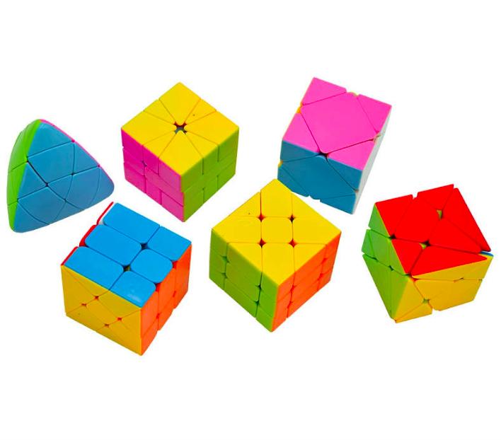 Набор головоломок- кубиков - фото 2