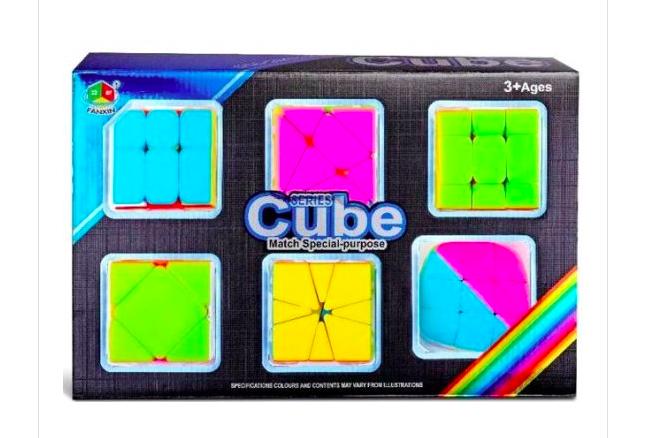 Набор головоломок- кубиков - фото 1