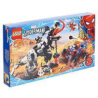 Конструктор Super Heroes Marvel «Человек-Паук: Засада на веномозавра»
