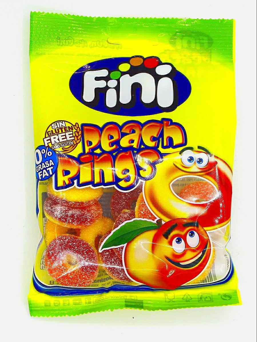 Мармелад Fini Персиковые колечки 100 гр. (Peach Rings) Мармелад