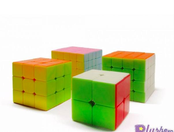 Набор головоломок- кубиков рубика из 4 - фото 2
