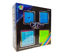 Набор головоломок- кубиков рубика из 4