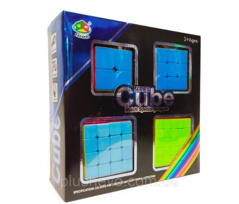 Набор головоломок- кубиков рубика из 4 - фото 1