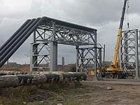Изготовление и монтаж эстакады Золопроводов ТЭЦ-2.