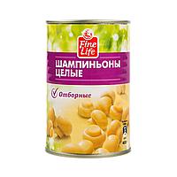 400Г ШАМПИНЬОНЫ ЦЕЛЫЕ Ж/Б FL