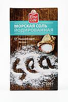 СОЛЬ МОРСК ЙОД КАРТОН FL 500Г